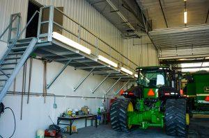 Internal lighting at AG Power Enterprises