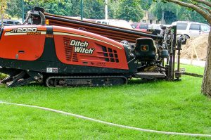 Red Boring Ditch Witch