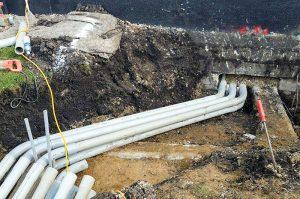 Underground pipelane
